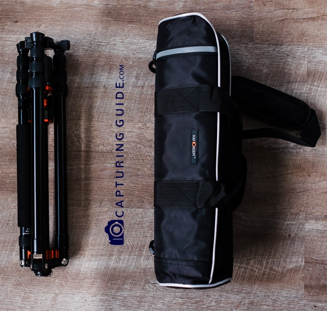 K&F Concept TM2515T tripod Review - packing image