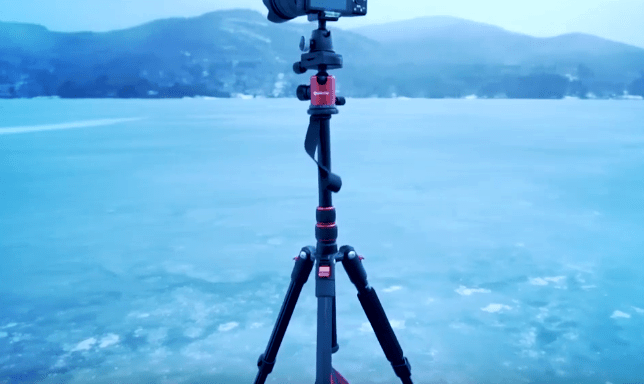 Geekoto AT24 Traveller tripod screenshot - Best lightweight tripod for backpacking