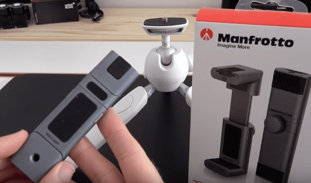 standard tripod mounts - Manfrotto Universal Smartphone Clamp