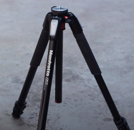 One of the best tripods for point and shoot camera - Manfrotto MT055 Screenshot